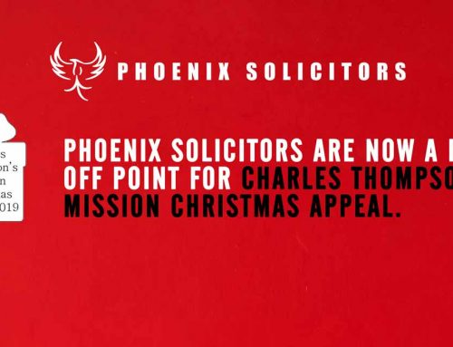 Charles Thompson's Mission Christmas Appeal Drop Off Point